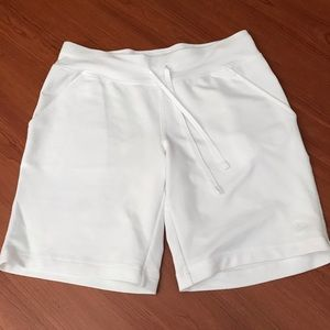 Danskin Now white shorts with pockets